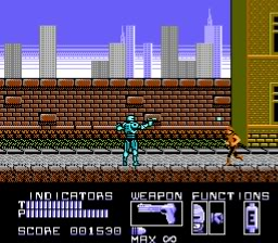 RoboCop » Download NES ROM
